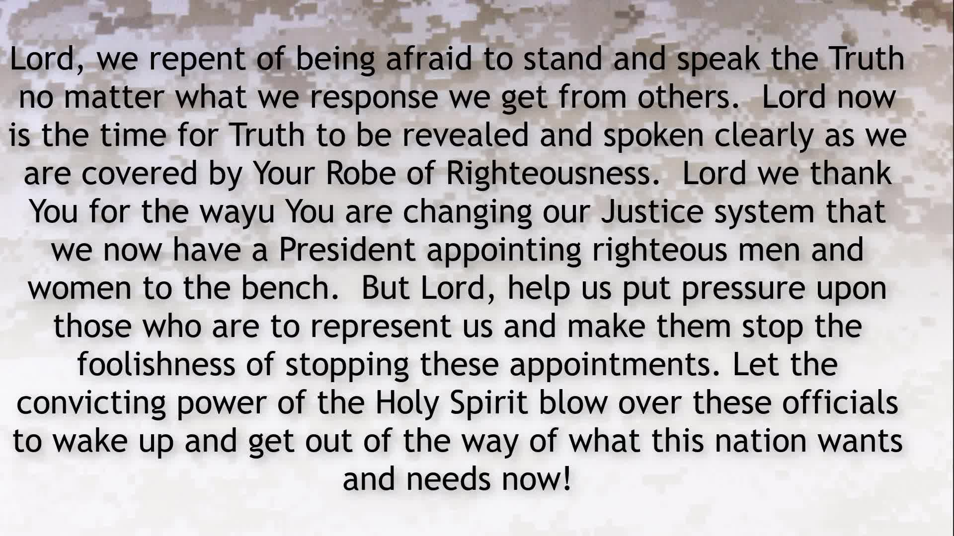 PRAYER FOCUS OUR CODE OF CONDUCT THE LAWS WE OBEY,  BUT ARE WE LEGALISTIC OR IN THE SPIRIT